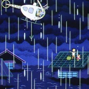 ◆◆◆ 【悲報】さくらももこさん、大雨洪水をバックに笑顔の記念撮影 ◆◆◆