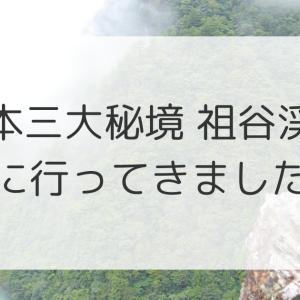 日本三大秘境の一つ「祖谷渓谷」へ行ってきました