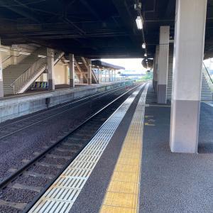 茨城県 新守谷駅 到着!