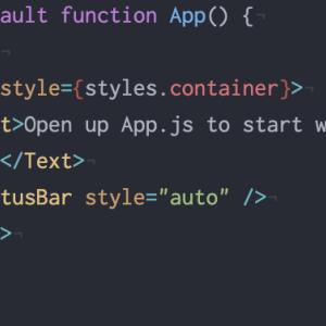 <AIアプリを作りたい ネイティブアプリ編 React Native> #3 〜構造化とスタイリングを学ぶ〜
