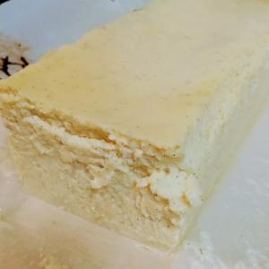材料は代用!!ミスターチーズケーキを作りました。