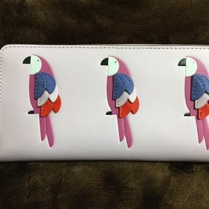 ケイト・スペードのインコ財布
