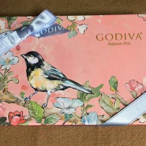 GODIVAの鳥さんチョコとか鳥さんラムネとか