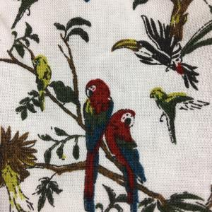 鳥だらけパジャマと鳥だらけシャツ