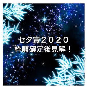 七夕賞2020枠順確定後見解!