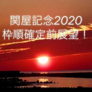 関屋記念2020枠順確定前展望!
