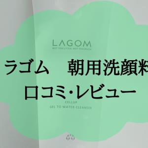 忙しい朝には、朝用洗顔料LAGOM(ラゴム)!口コミを徹底調査!