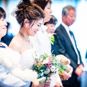 【結婚】かっちゃんの日本披露宴・1.5次会→当日のスケジュールとベストショット②