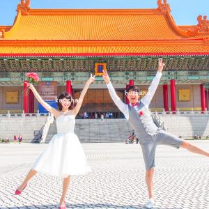 【旅行】セルフ後撮りもしたよ!まさにフォトジェニックな台湾旅行→ベストショットin中正紀念堂・龍山寺