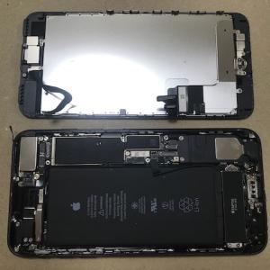 iPhone7 Plus のバッテリー交換作業、無事完了