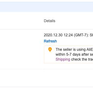 AliExpressで注文したスマホが発送キャンセルされた