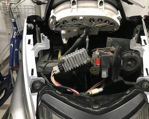 自分メモ:マジェスティ125整備 32,112km レギュレータ交換