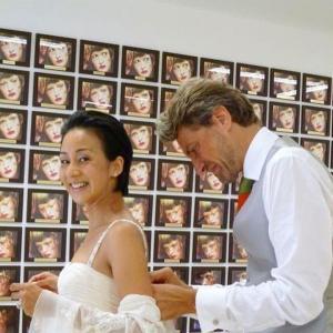 『中村江里子』フランス🇫🇷に嫁いで19年目ウェディング写真を公開★