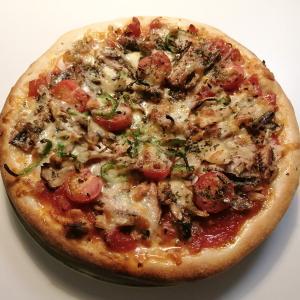 自家製ピザ3種
