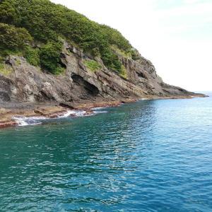 福島町の「岩部漁港」と「海峡横綱ビーチ」