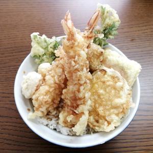 天丼専門店ふらわーの「秋の味覚天丼」