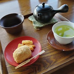 ティーショップ夕日で絶品の煎茶を楽しむ