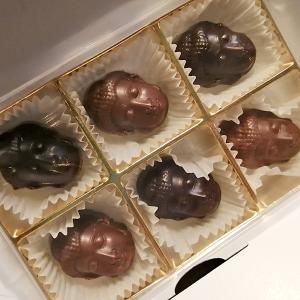ベルギーチョコレート専門店「プティ ベルジュ」のごりやくショコラとオレンジガトーショコラ