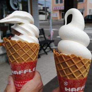 【カロメリア】のソフトクリーム