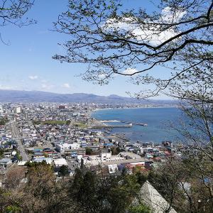久しぶりの函館山登山は宮の森コースからの立待岬♪