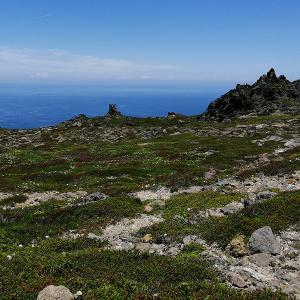 2021年初の恵山登山は、権現堂登山コースで♪