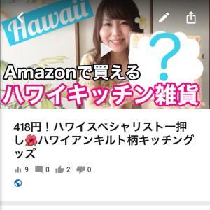 ハワイYouTube【418円!ハワイアンキルト柄キッチングッズ】
