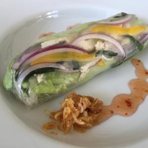 暑い夏に!チンして巻くだけ❗️野菜不足にも❗️