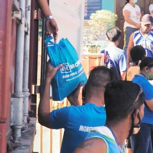 【MORETA】今も一般市民へ支援中 / パラワン島