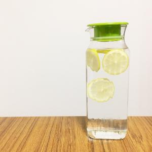 麦茶のかわりにレモン水