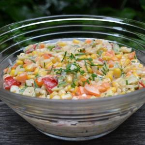 Creamy Corn Salad クリームコーンサラダ