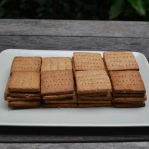 Homemade Graham Crackers 自家製グラハムクラッカー