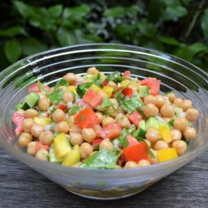 Chickpea Salad ひよこ豆のサラダ