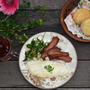 Egg White Omelet ホワイトオムレツ