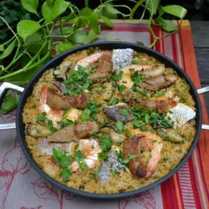Seafood Jambalaya シーフードジャンバラヤ
