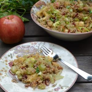 Apple Quinoa Salad キヌアと林檎のサラダ