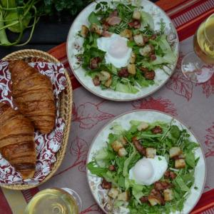 Salade Lyonnaise リヨン風サラダ