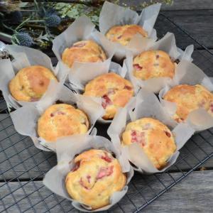 Strawberry Banana Muffins ストロベリーバナナマフィン