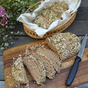 Multi Grain Bread ホシノ天然酵母で雑穀パン
