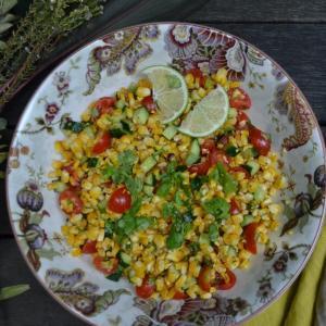 Roasted Corn Salad ローストコーンサラダ