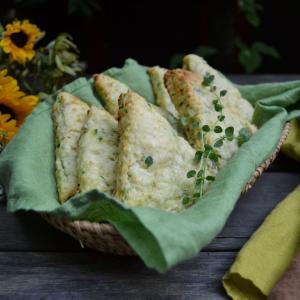 Cheese Zucchini Scones チーズズッキーニスコーン