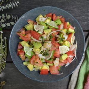 Shrimp Avocado Salad   海老とアボカドのサラダ
