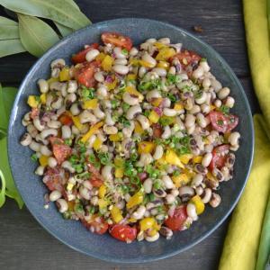 Black-Eyed Pea Salad ブラックアイピーサラダ