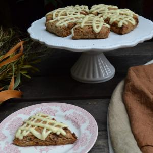 Whole Wheat Carrot Scones  全粒粉のキャロットスコーン