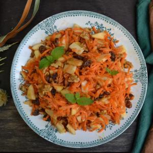 Apple Carrot Salad 林檎と人参のサラダ