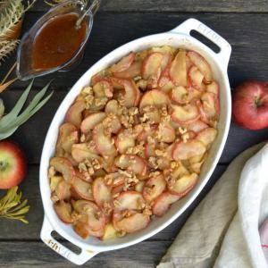 Apple Bread Pudding アップルブレッドプッディング
