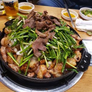蚕室(チャムシル)で絶品コプチャン!地元韓国人であふれるピョルミコプチャン(별미곱창)