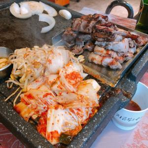 韓国飯のTHE定番!サムギョプサルの美味しいお店「ハナムテジチプ」