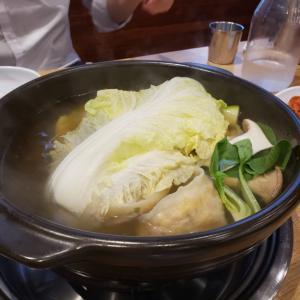 韓国式餃子鍋!?ケソンソンマンドゥ