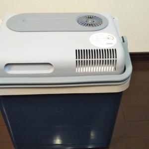 ペルチェ式ポータブル冷蔵ボックス MOBICOOL P24DCを買ってレビュー開始その1