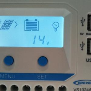 安価なソーラー発電セットでもやっぱり取り付けて良かった